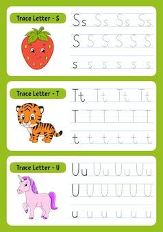 子供のための動物との手紙を書く