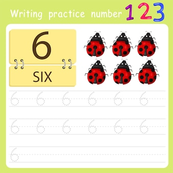Writing practice number six
