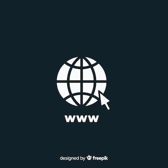 Значок www