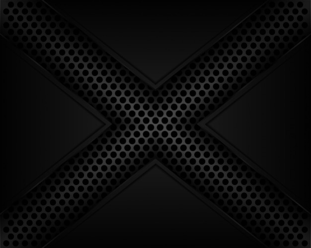 X line shadow dark grey background