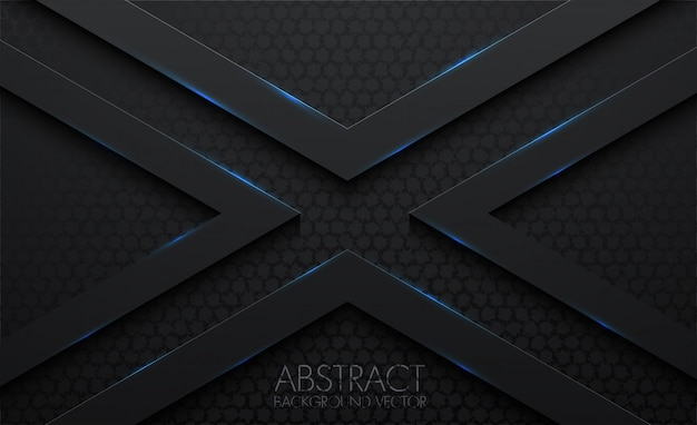 X pattern abstract 3d black background