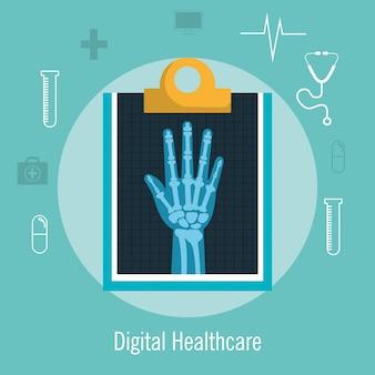 Рентгеновское обслуживание медицинское здоровье изолированные