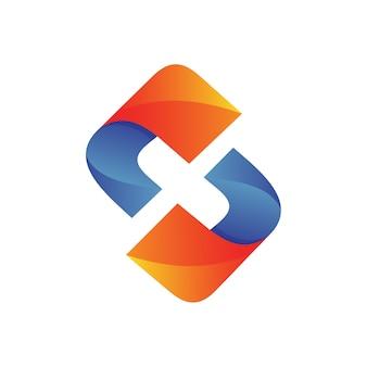 文字xロゴ