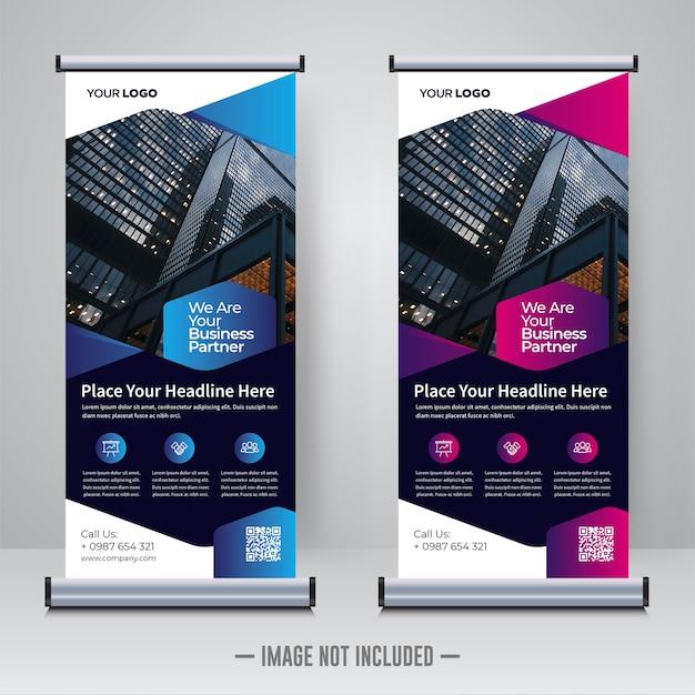 Корпоративный шаблон или x дизайн баннера