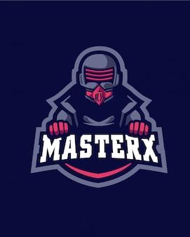 マスターxロゴ
