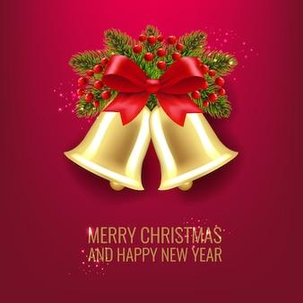 Рождественские колокола и холли берри