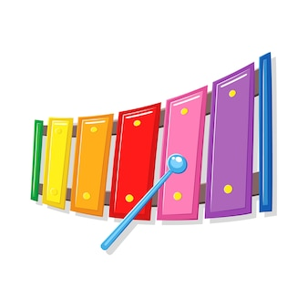 Xylophone music toy cartoon