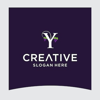 Yブドウのロゴデザイン