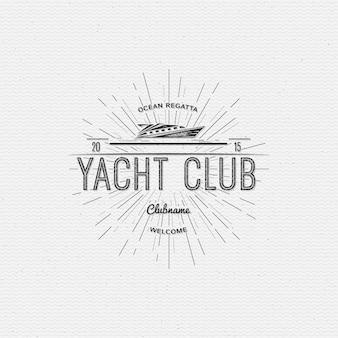 ヨットクラブのロゴ