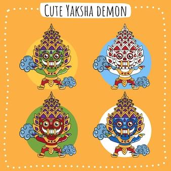 Yaksha nature thai spirit