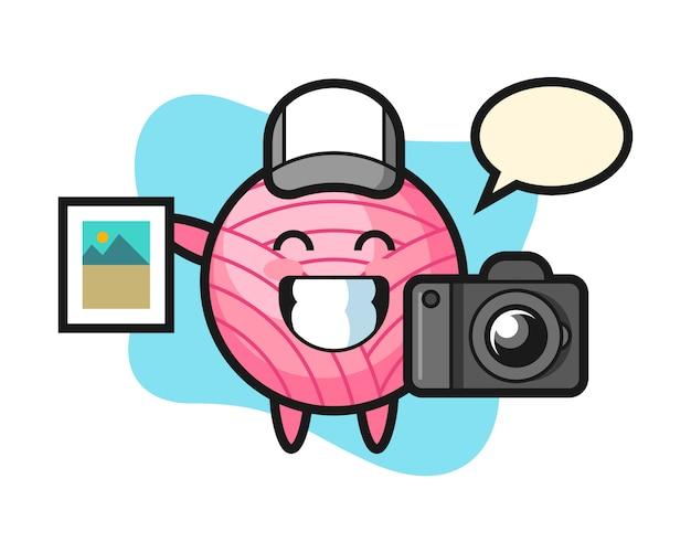 写真家としての糸玉漫画