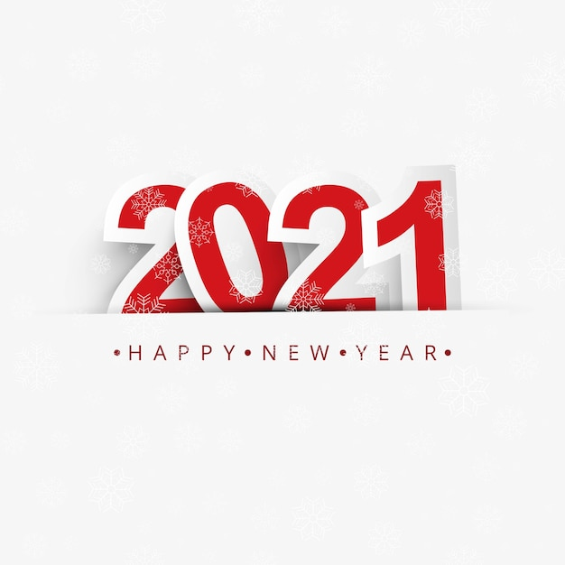 The year 2021 displayed elegant  celebration background