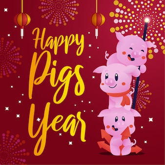 Year of the piggy 2019
