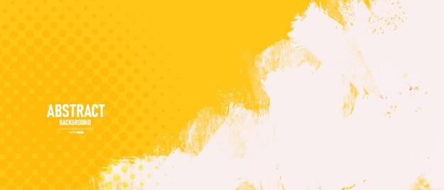 Желтый абстрактный фон с текстурой гранж