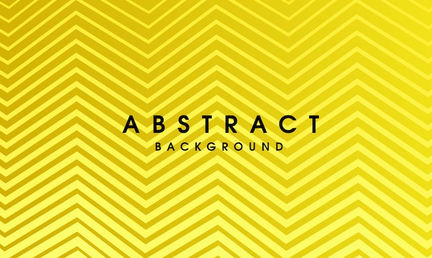 Yellow abstract geometric design