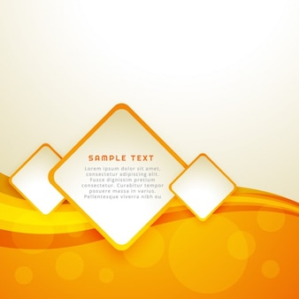 Yellow abstract template