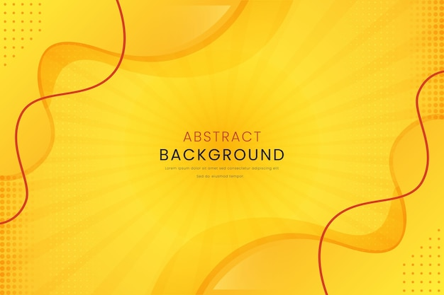 Yellow abstract with lines gradient background
