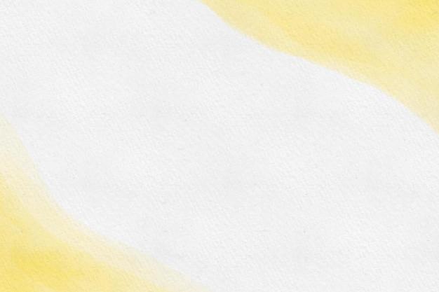 黄色と白の水彩画の背景