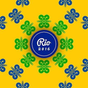 Бразилия цвета тема красивый дизайн фона