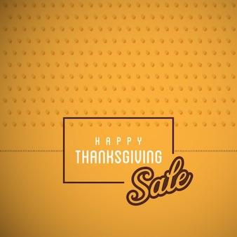 黄色の背景、感謝祭