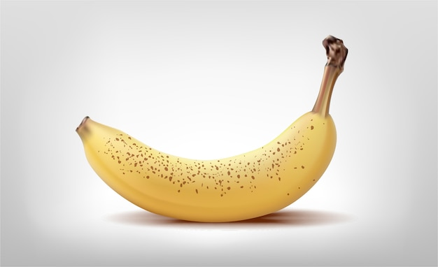 노란색 바나나 절연