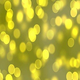 Желтый боке эффект фона