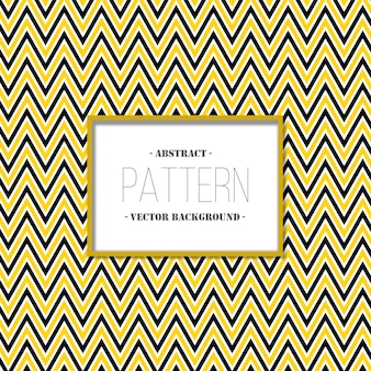 Yellow and dark grey zig zag pattern background