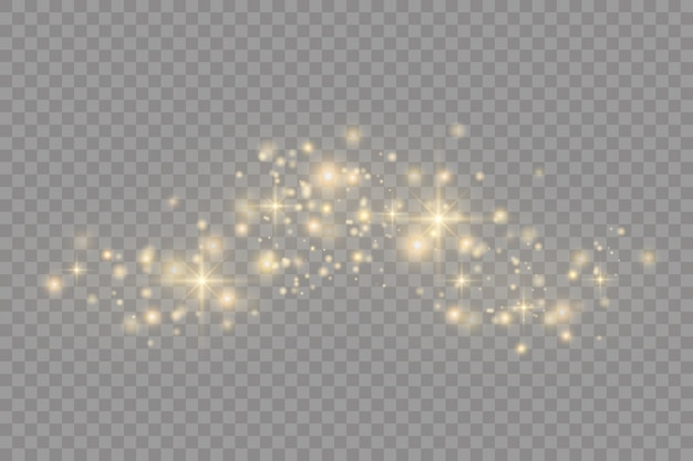 黄砂。ボケ効果。ほこりの粒子。