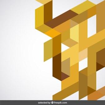 Giallo astrazione geometrica