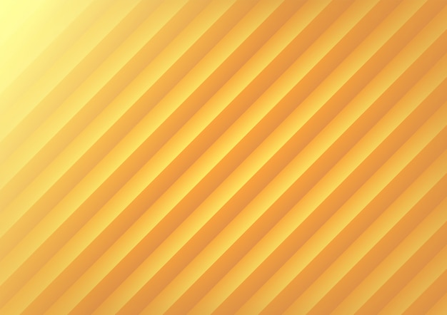 Yellow geometric wave abstract background.
