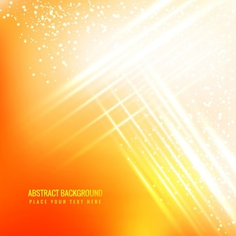 Yellow glowing abstract background with sparkles