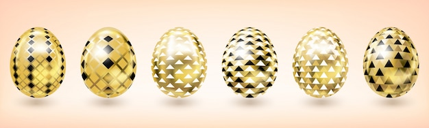 Yellow gold easter egg with diamond decor