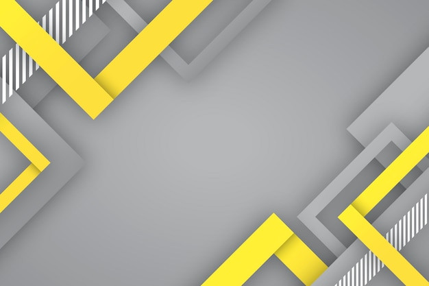 Yellow and gray background concept