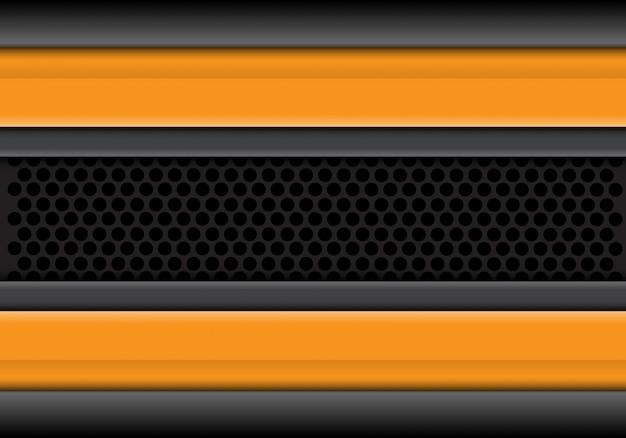 Желто-серые линии перекрываются на фоне круга сетки.