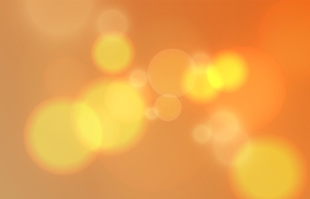 Yellow light effect with lens flare png vector