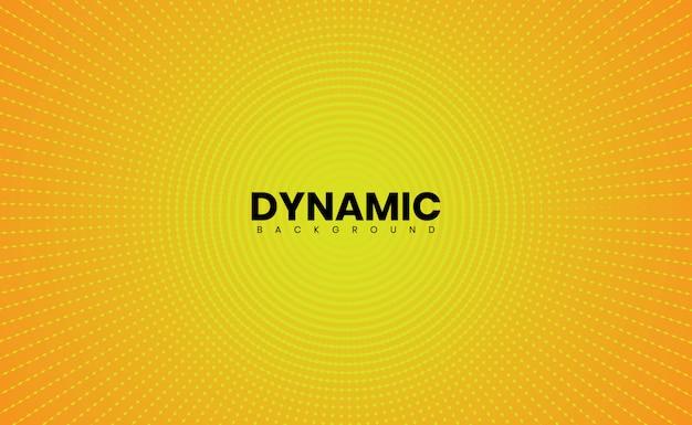 Желтый современный абстрактный фон