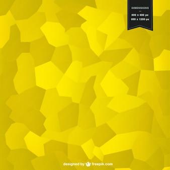 黄色モザイク背景デザイン