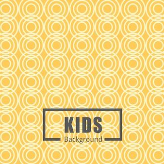 Seamless con elementi carino per i bambini