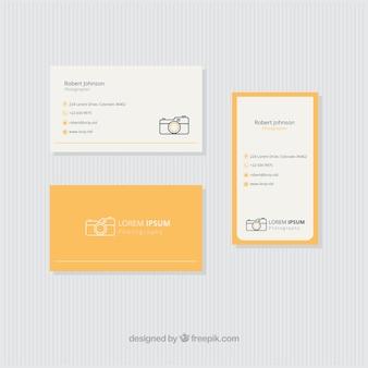 옐로우 포토 스튜디오 카드