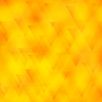 Yellow polygonal background with triangles