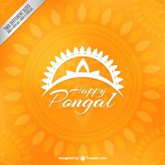 Yellow pongal background