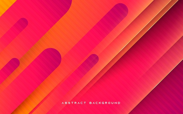 Yellow and purple gradient geometric background