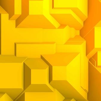 노란색 사각형 배경