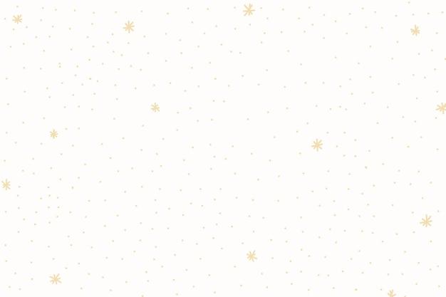 黄色い星模様