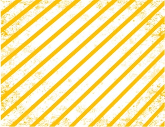 Yellow stripes grunge vector background