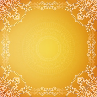 Yellow stylish luxury background