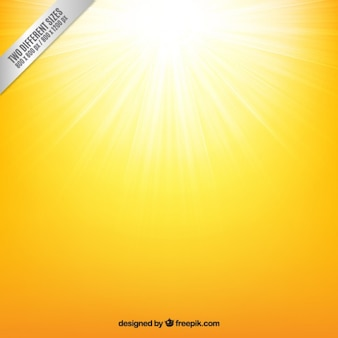 Yellow sunshine background