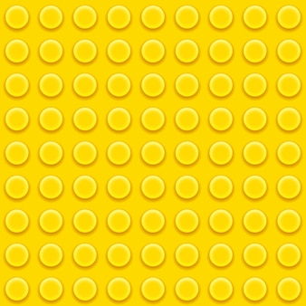 Yellow toy block