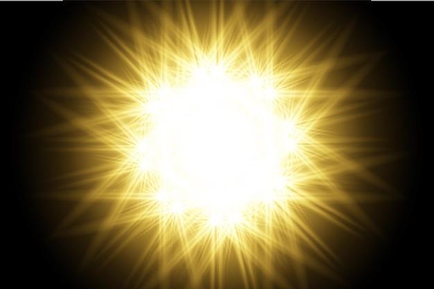 Желтый прозрачный фон объектив блики пакет