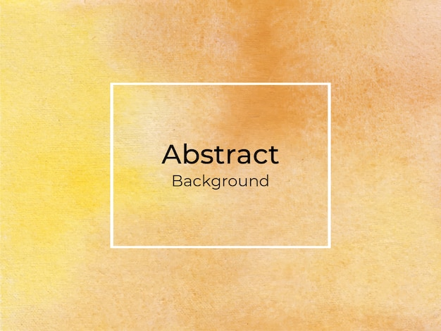 Yellow watercolor abstract luxury background